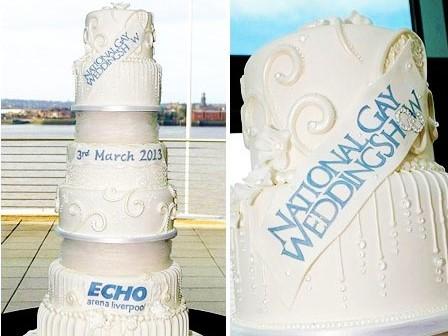 Kue Acara Pernikahan Gay Nasional