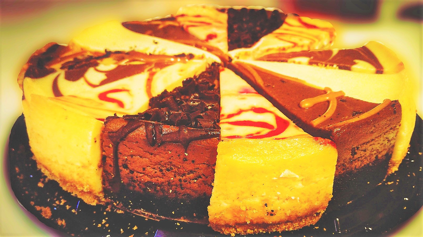 Kue Bolu Panggang Coklat Keju