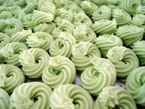 Resep Kue Sagu keju Pandan