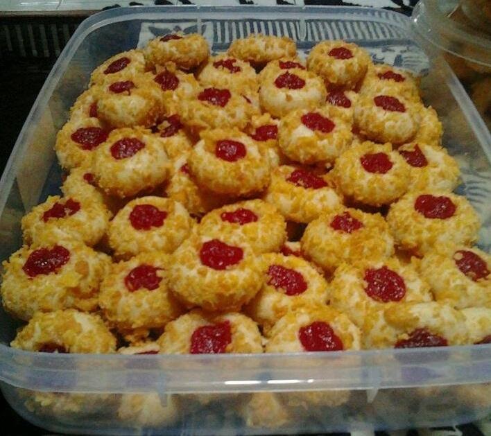 resep kue kering cornflakes