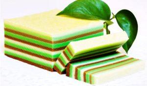 kue lapis warna warni