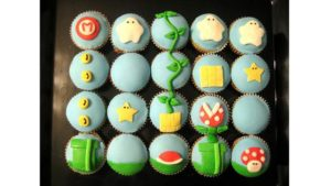 cupcake desain mario bros
