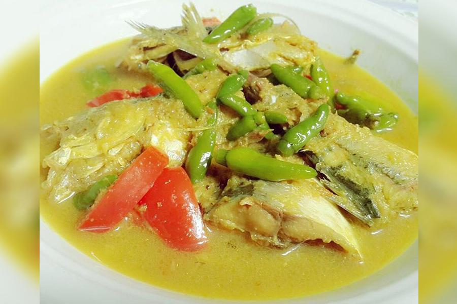 Ikan Tongkol Bumbu Kuning Lezat