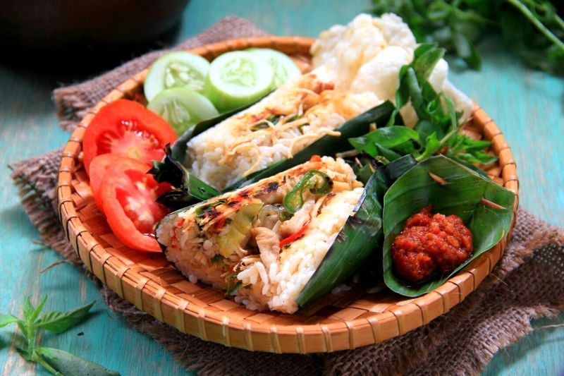 Ikan Tongkol Nasi Bakar