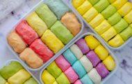 Cara Membuat Pancake Durian Rainbow Yang Lembut Dan Lezat