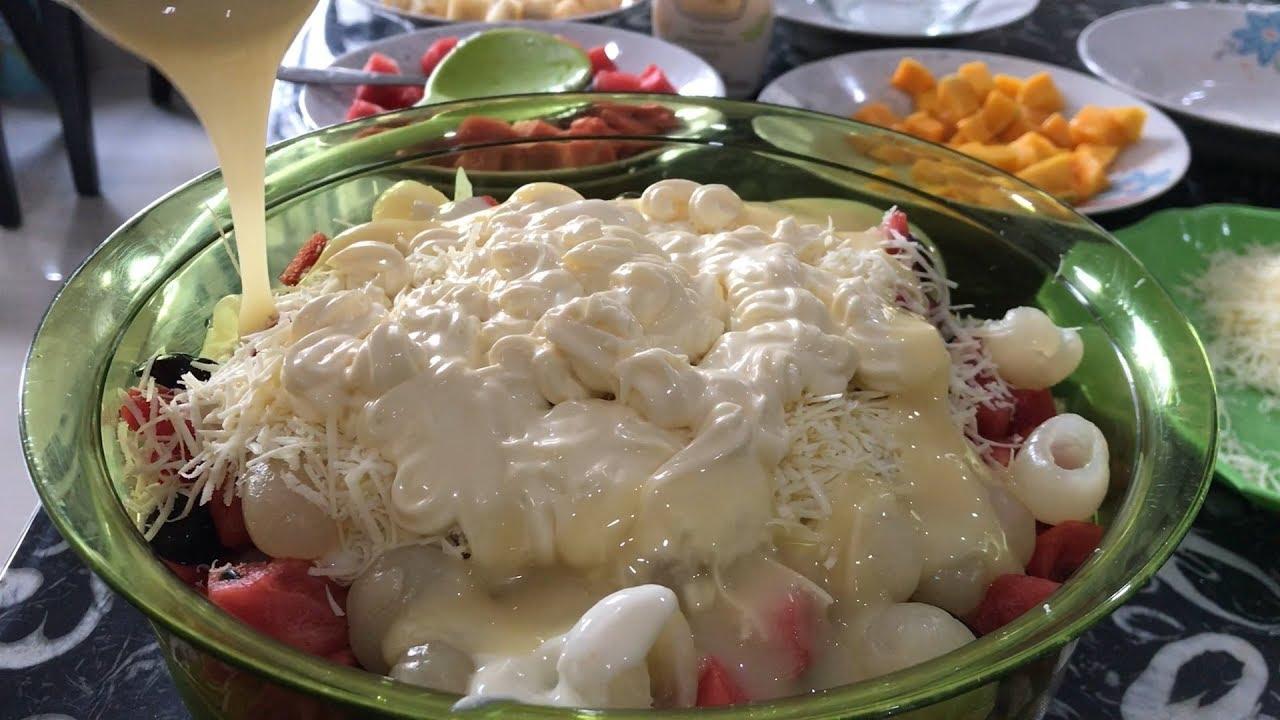 Resep Salad Buah Ekonomis Untuk Dijual dijamin Laris Manis !