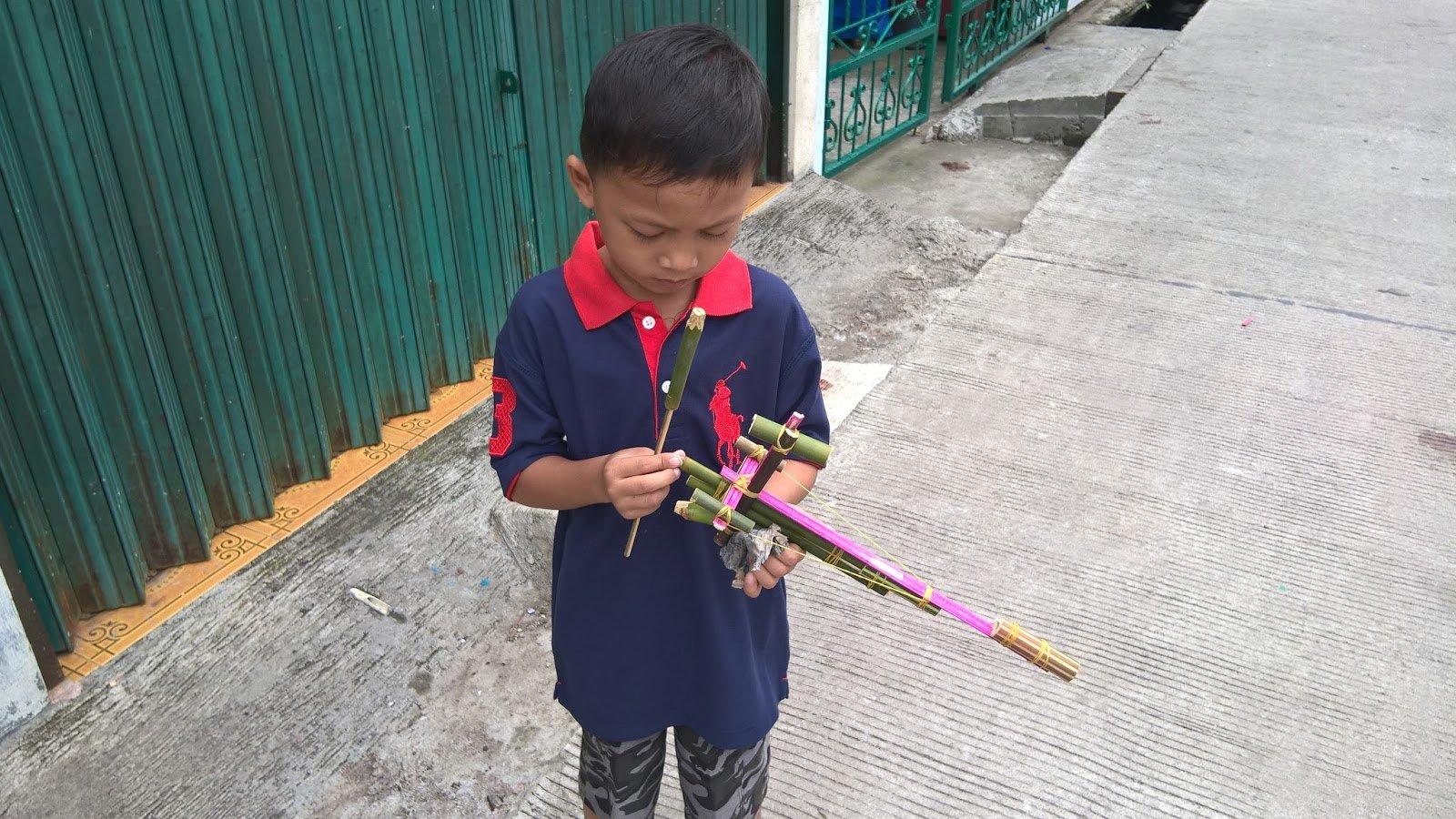 Cara Membuat Mainan Tradisional Dari Bambu