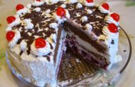 Cara Membuat Black Forest Mini