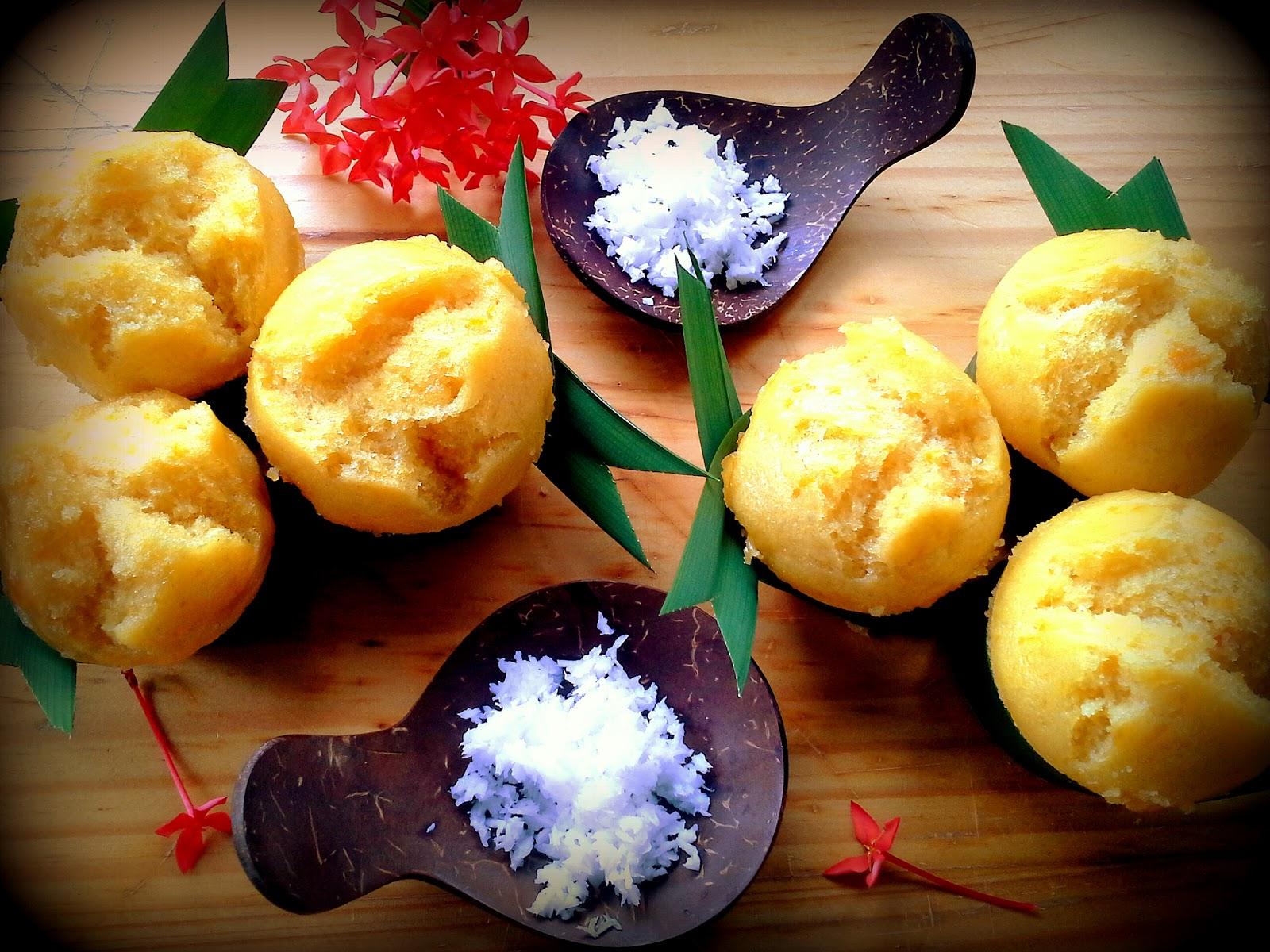 makanan dari tepung beras dan terigu
