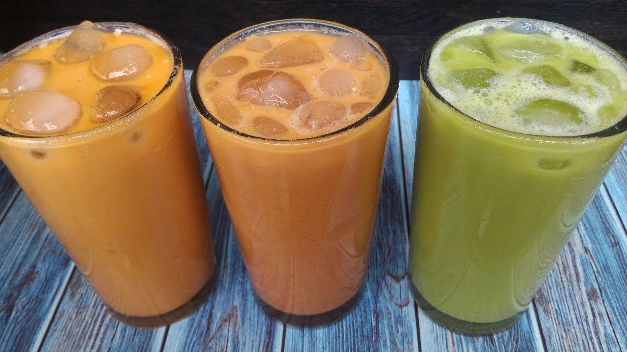 Cara Buat Thai Tea Milo Yang Bisa Anda Coba Dirumah