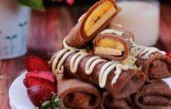 Kue Dadar Gulung Coklat yang Khas, Lezat dan Nikmat
