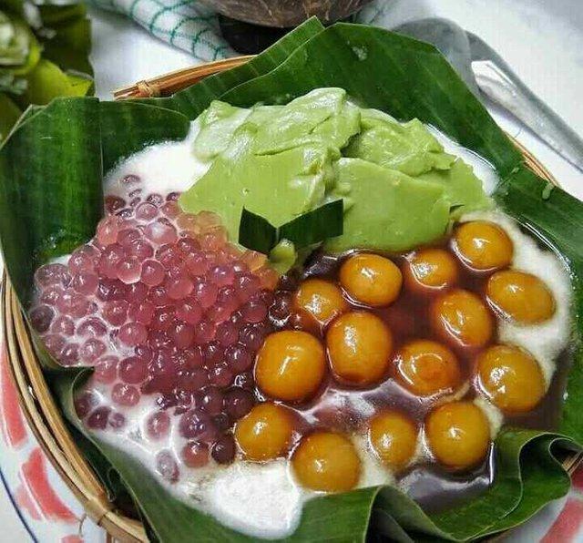 resep bubur sumsum komplit