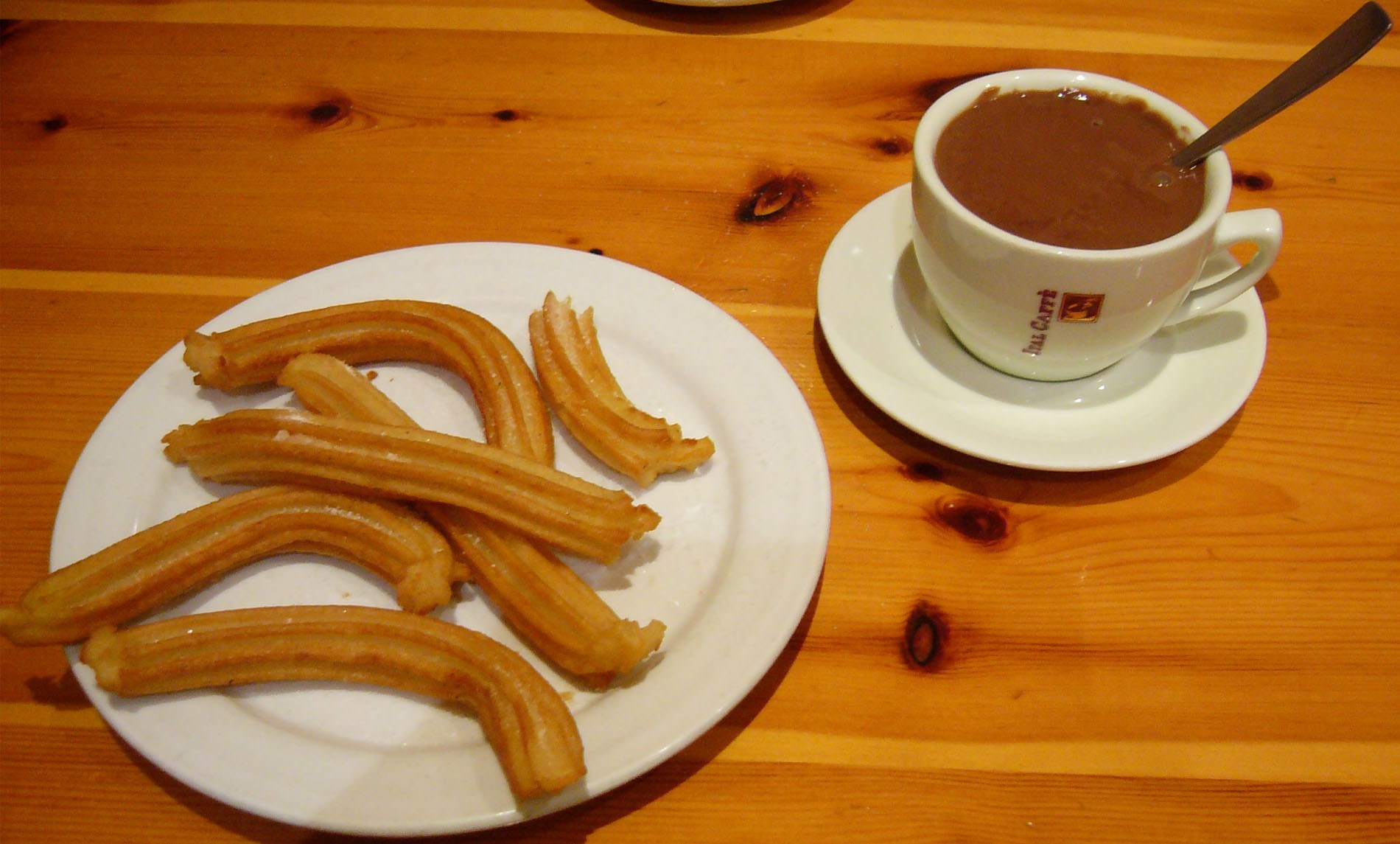 Cara Membuat Churros Green