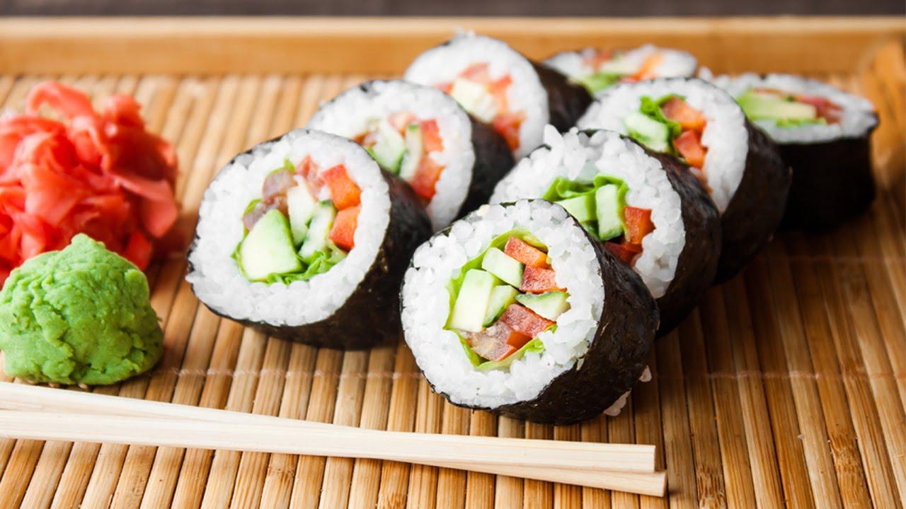 sushi ayam